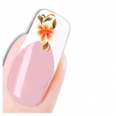 Tattoo Nail Art Aufkleber Blumen Nagel Sticker - 1