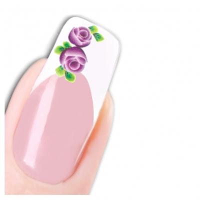 Tattoo Nail Art Aufkleber Blumen Nagel Sticker - 1
