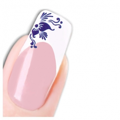 Tattoo Nail Art Blumen Ornamente Aufkleber Nagel Sticker - 1