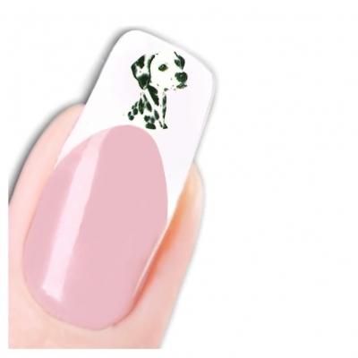 Tattoo Nail Art Hunde Aufkleber Nagel Sticker - 1