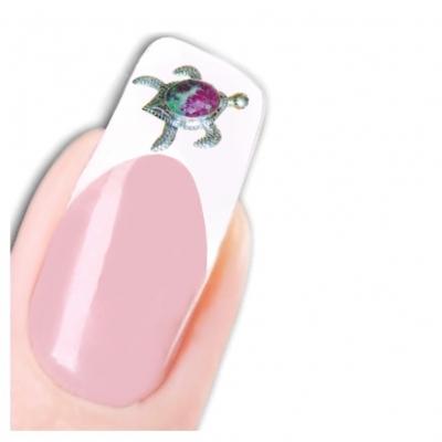 Tattoo Nail Art Schildkröte Aufkleber Nagel Sticker - 1