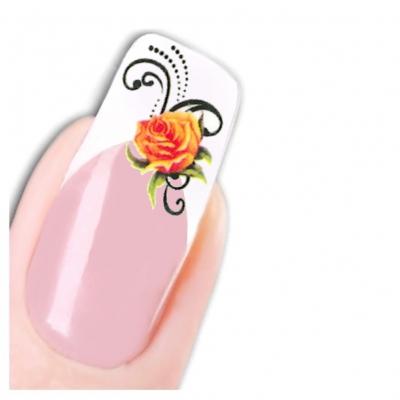 Tattoo Nail Art Schmetterling Blumen Aufkleber Nagel Sticker - 1