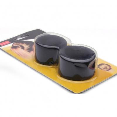 Frisurenhilfe Knotenrolle für Dutt in Schwarz - 1