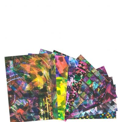 Nail Art Nagelfolie Nagel Schablone Sticker in verschiedenen Modellen - 2