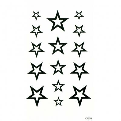 Temporäre Tattoos Sterne Körperkunst - 2