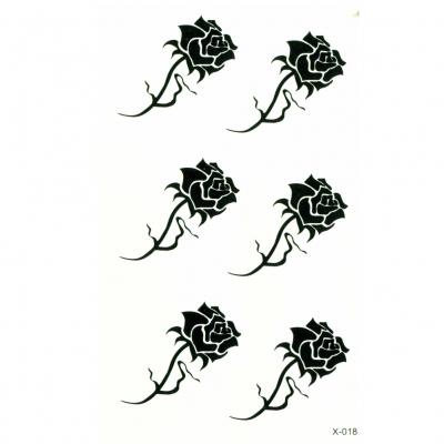 Temporäre Tattoos Rose Körperkunst - 2