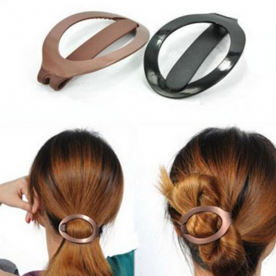 Frisurenhilfe Haar Klammer in Schwarz - 1