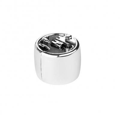 Mini Haarklammer in 4 Farben Silber - 2