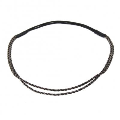 Luxus Haarband in der Farbe Schwarz - 1