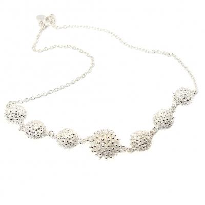 Halskette aus Edelstahl Kette in modernem Design - 1