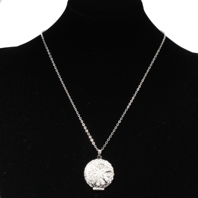 Halskette mit Medaillon zum Öffnen - 1