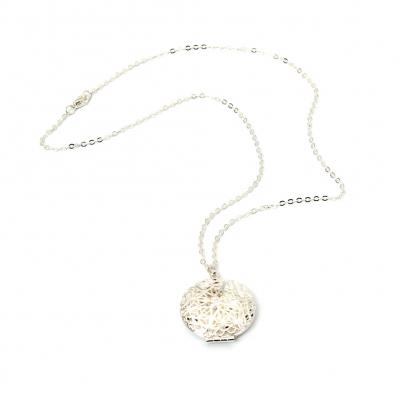 Halskette mit Medaillon zum Öffnen - 4