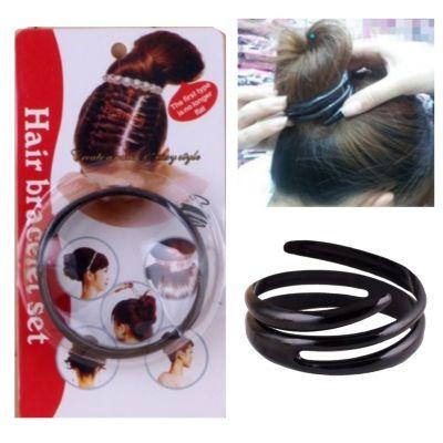 Spirale Frisurhilfe für Dutt - 1