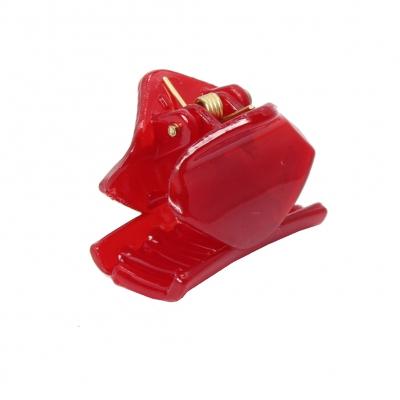Mini Haarklammer Haarclip Rot - 2
