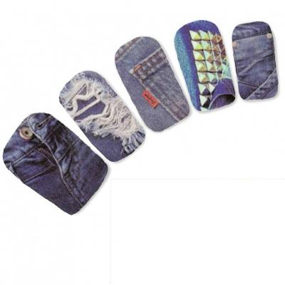 Tattoo Nail Jeans Po Tasche Nagel Sticker - 2
