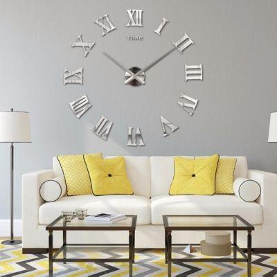 wanduhr xxl deko 3d mit r mischen zahlen der onlineshop f r haarschmuck und viel mehr. Black Bedroom Furniture Sets. Home Design Ideas