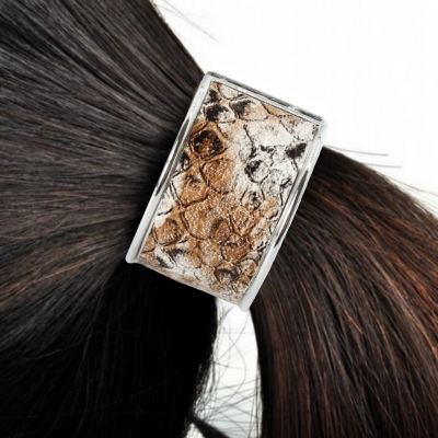Haarring mit Schlangen Muster Modell 1 - 3