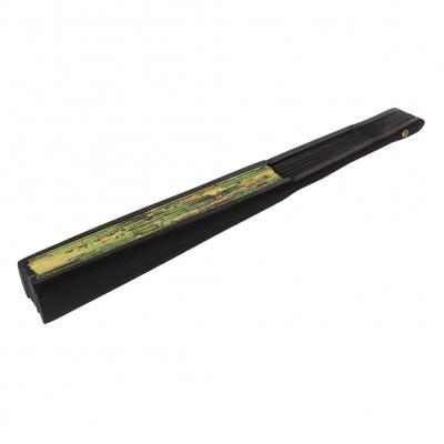 Fächer Handfächer asiatisch Bambus - 1