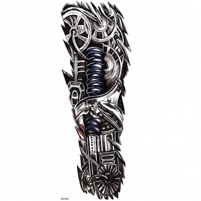 Temporäres Tattoo mechanischer Arm Tätowierung Design - 2
