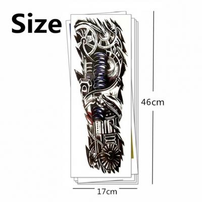 Temporäres Tattoo mechanischer Arm Tätowierung Design - 3