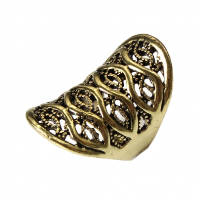 Edelstahl Ring Bronze - 1