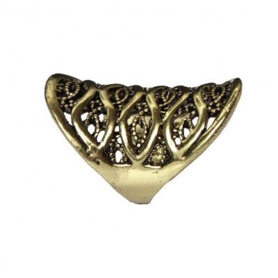 Edelstahl Ring Bronze - 3