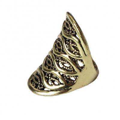 Edelstahl Ring Bronze - 4