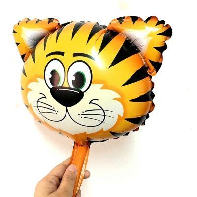 Tiger Folienballon 26 x 27 CM Luftballon - 1