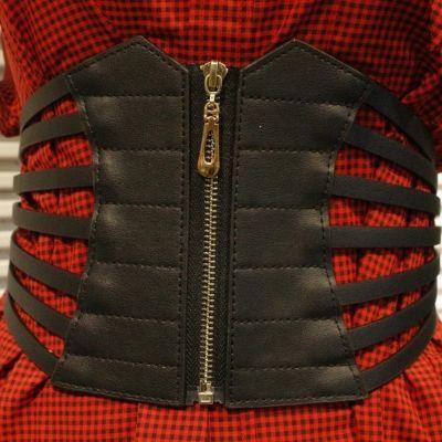 Breiter Hüftgürtel Stretch Taillengürtel Buckle Vintage Korsett Belt Korsett - 1