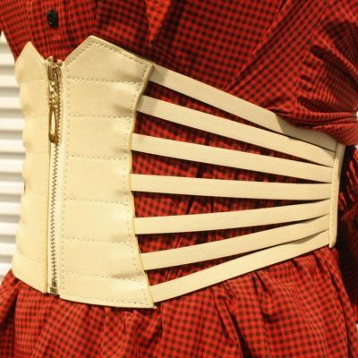Breiter Hüftgürtel Stretch Taillengürtel Buckle Vintage Korsett Belt Korsett - 2