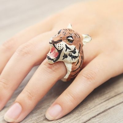Tier Ring Modeschmuck One Size in 6 Varianten - 4