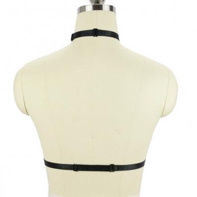 Bandage Büstenhalter Harness elastischen Käfig BH Strappy - 3