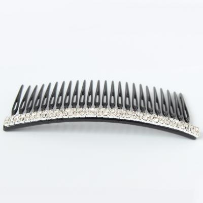 Strass Haarkamm in der Farbe Silber - 2