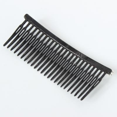 Strass Haarkamm in der Farbe Silber - 3