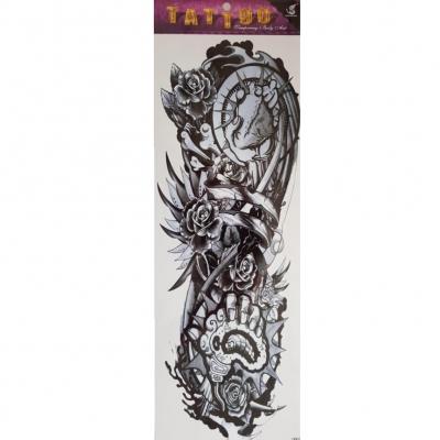 Temporäres Tattoo Herz Rose Tätowierung Design - 1