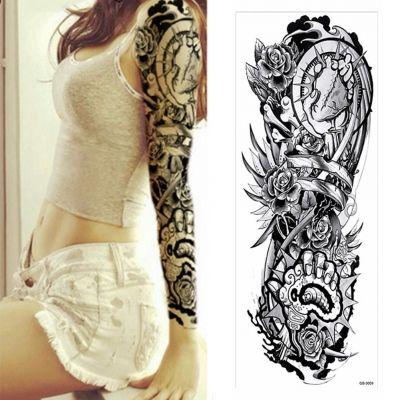Temporäres Tattoo Herz Rose Tätowierung Design - 3