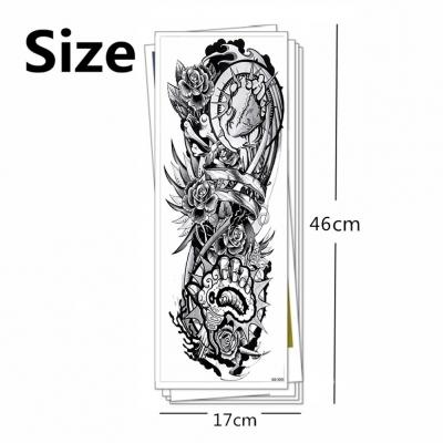 Temporäres Tattoo Herz Rose Tätowierung Design - 4