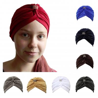Damen Turban Kopfbedeckung Fashion - 1