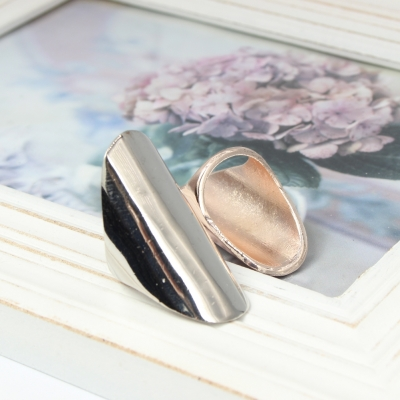 Edelstahl Ring Schlichtes Elegantes Design - 1