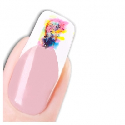 Tattoo Nail Art Modell Glamour Teenager Aufkleber Nagel Sticker - 1