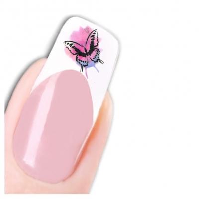 Tattoo Nail Art Schmetterling Butterfly Nagel Sticker - 1