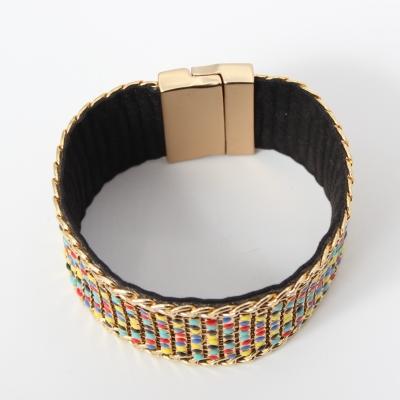 Luxus Armband Bunt Kette Edler Modeschmuck mit Magnetverschluss - 2