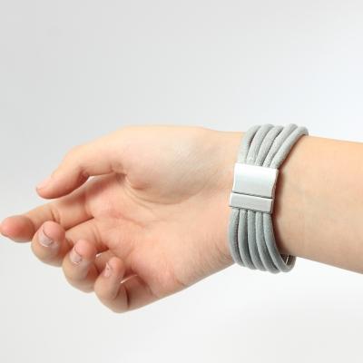 Luxus Armband Spiralen Design in der Farbe Gold mit Magnetverschluss - 3