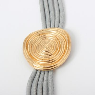Luxus Armband Spiralen Design in der Farbe Gold mit Magnetverschluss - 4