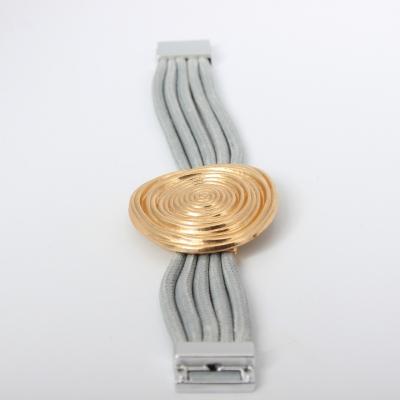 Luxus Armband Spiralen Design in der Farbe Gold mit Magnetverschluss - 5