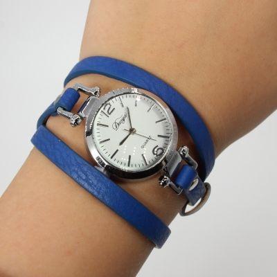 Damen Uhr Quartz Armbanduhr Strass Armband Armschmuck - 1