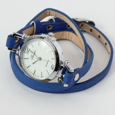 Damen Uhr Quartz Armbanduhr Strass Armband Armschmuck - 2