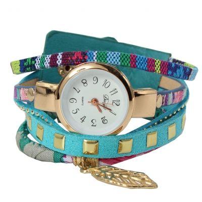 Damen Uhr Quartz Armbanduhr Strass Armband Armschmuck Modell 6 - 2