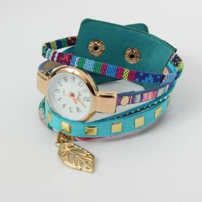 Damen Uhr Quartz Armbanduhr Strass Armband Armschmuck Modell 6 - 3
