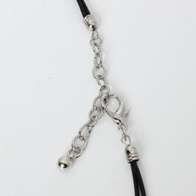 Halskette mit Herz Anhänger Handarbeit Mehndi Vintage Geschenkidee - 5